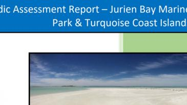 Periodic assessment report cover - Jurien Bay MP & Turquoise Coast Islands